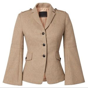 Banana republic gold speckle safari Jane coat